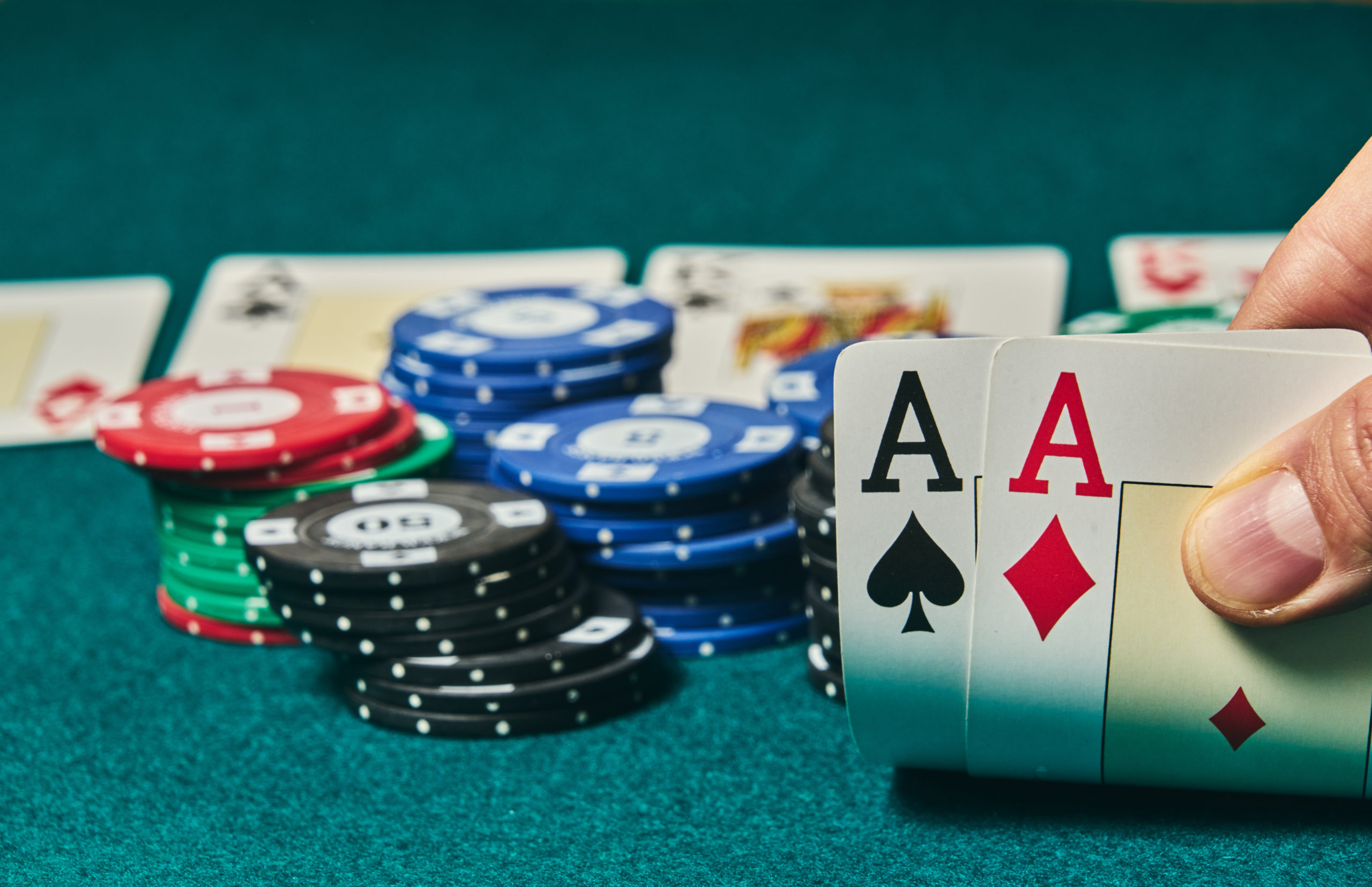 Additional Option per Attendee - Texas Holdem